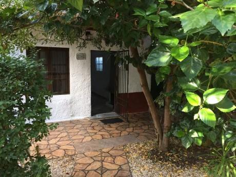 Prox  8 De Oct Y Corrales, 1 Dorm, Est Leña, Jardin Y Patio, Gastos Bajos!