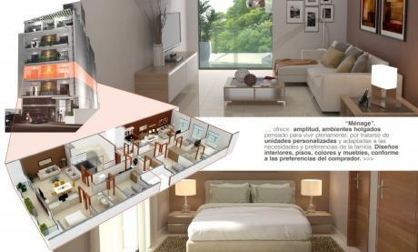 Edificio Ménage, Villa Morra - Depto De 2 Dormitorios En Pozo