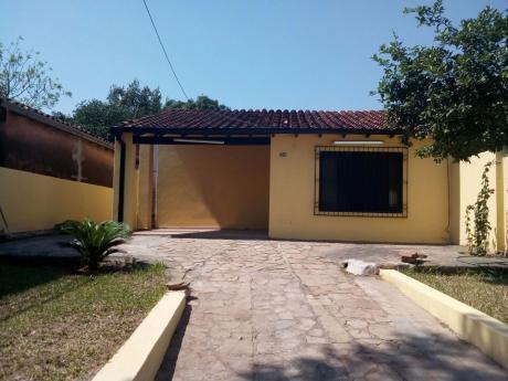 Alquilo Casa Zona Felix Bogado