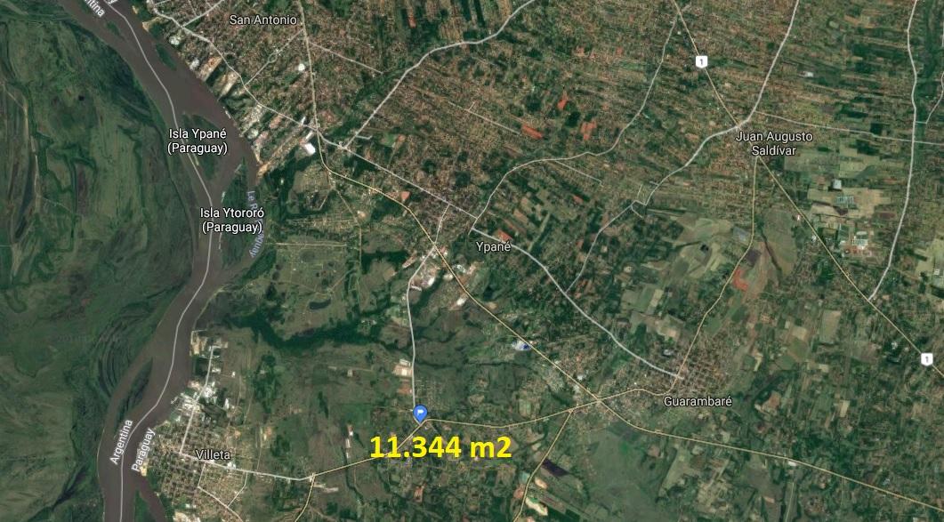 Terreno Comercial O Industrial Premium En Villeta / Acceso Sur / Zona Cervepar