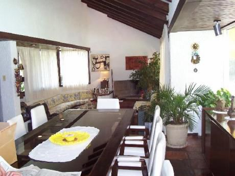 Chalé Cantegril 2000m2 Tierra , 4 Dorm 3 Baños Serv Piscina Tenis