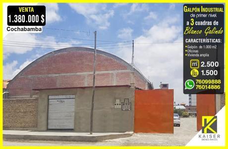 Galpón Industrial En Cochabamba