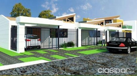 Vendo Duplex En M.r.a Barrio Concordia A 3 Cuadras De La Transchaco.