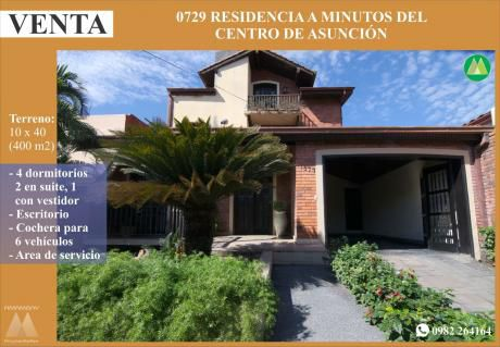0729 Residencia En Barrio Pettirossi