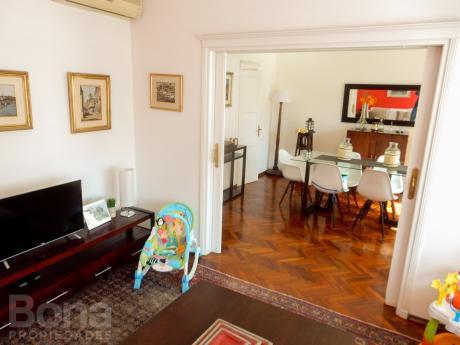 Precioso Apartamento De 100m2 A Metros De La Rambla