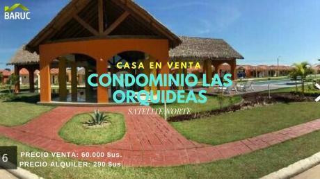 Casa En Venta - Condominio Las Orquideas