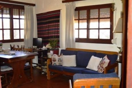 Casa Con Estufa A Leña, Parrillero Y Apartamento Al Fondo