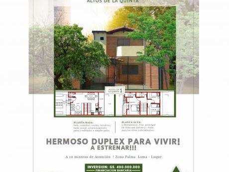 Hermoso Duplex Para Vivir!!! A Estrenar !!!