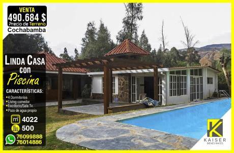 Linda Casa A Precio De Terreno En Cochabamba