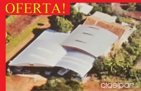 Vendo Tinglado Con Casa Sobre Ruta 6 - Km 18 Cap. Miranda - Itapua