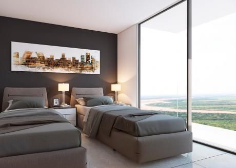 Pre -venta De Monoambiente Edificio Intowers En El Urubo