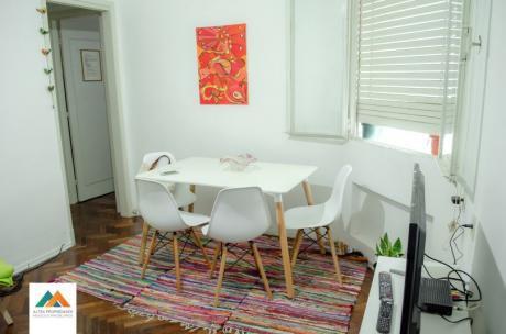 Muy Cómodo Apartamento, Contrafrente, Súper Luminoso, 37m2