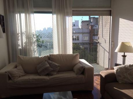 Excelente Apartamento En Pocitos Al Frente 2 Dorm, Garage, Impecable!