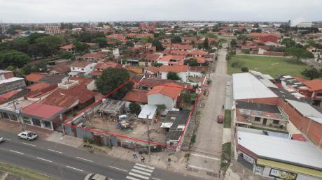 Terreno Para Inversión Entre  3er Y 4to An. En Esquina Av. Virgen De Cotoca