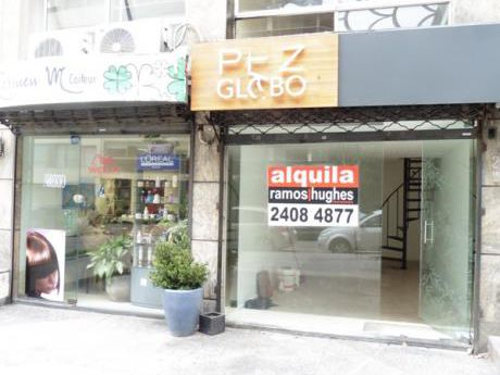 Alquiler De Local Comercial En Pocitos