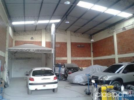 Lambare -tinglado - Alquilo O Vendo -taller Chaperia Y Pintura - 421m2