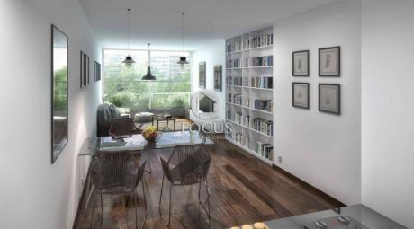 Venta Apartamento Monoambiente Con Terraza En Centro.