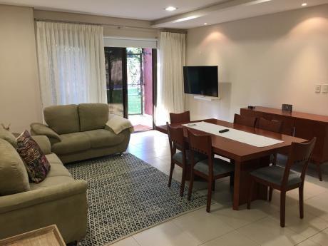 Departamento Amoblado 2 Dorm. - Z/ Venezuela Y España