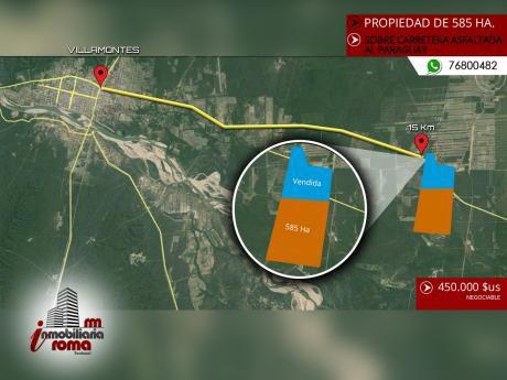 Propiedad Agricola En Villamontes