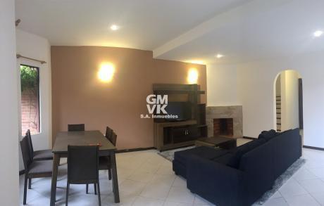 Vendo O Alquilo Amoblado Hermoso Duplex En Condominio Zona Colegio Goethe