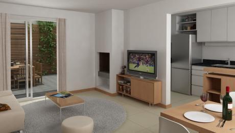 Apartamento 2 Dormitorios, Terraza, Parrillero, Parque Rodó