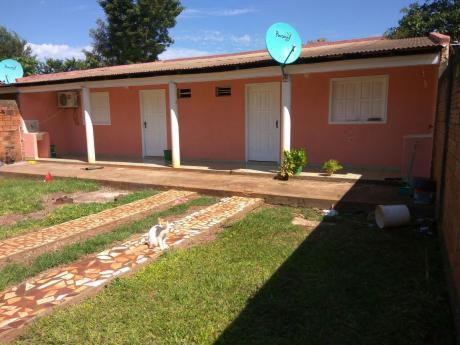 Vendo Terreno Con Casa En El Km 7 Ciudad Nueva!!