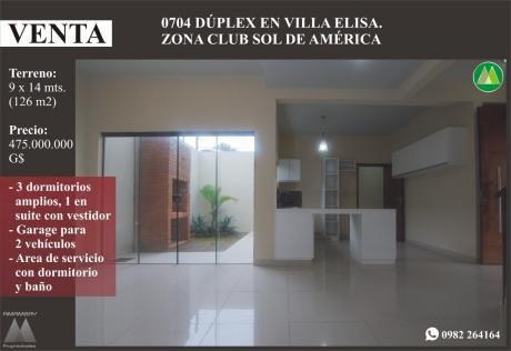 0704 Duplex A Estrenar En Villa Elisa, Zona Club Sol De AmÉrica