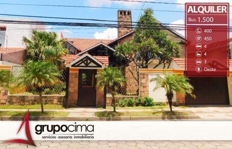 Casa De Lujo En Las Palmas En Alquiler 1.700 $us