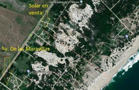 Excelente Terreno Punta Rubia