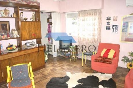 Apto 1 Dorm. Interior Con 48 M2, Muy Iluminado, Prox. Gaboto Y Colonia