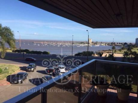 Amazing Waterfront View Furnished 3 Bdrm Apt Puerto Del Buceo