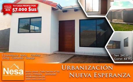 Nesa Vende Bonitas Casas EconÓmicas A Estrenar