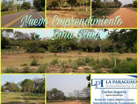 Nuevo Emprendimiento En Loma Grande
