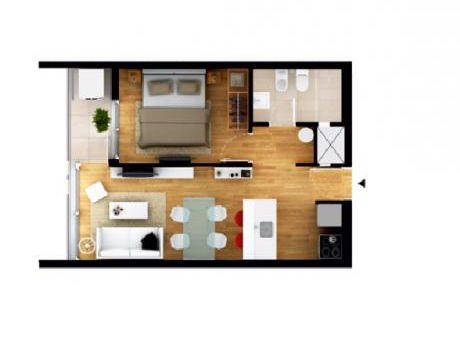Apartamento En Mercedes Y Arenal Grande