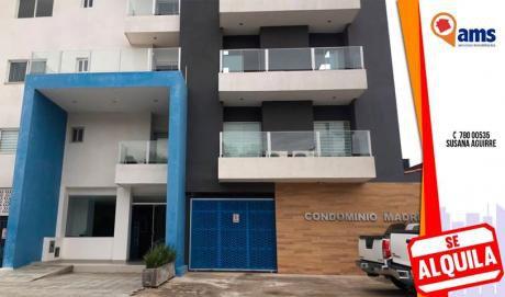 Departamento En Alquiler En Condominio Madrid