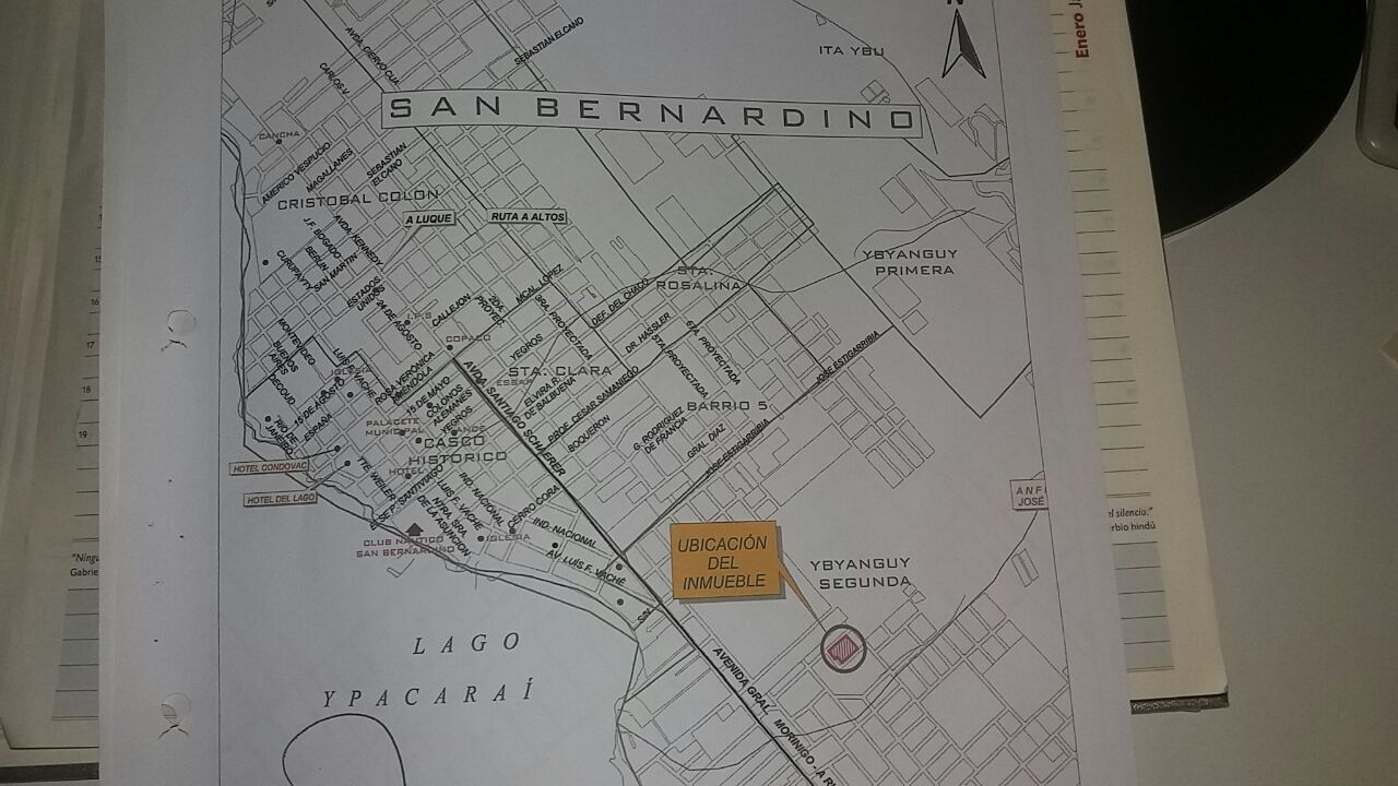Venta Terreno San Ber De 5.688 M2...zona Centro