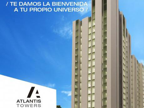 Departamento De 2 Dormitorios Atlantis Towers