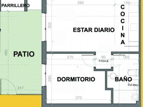 Casa Independientes Con Patio Y Parrillero