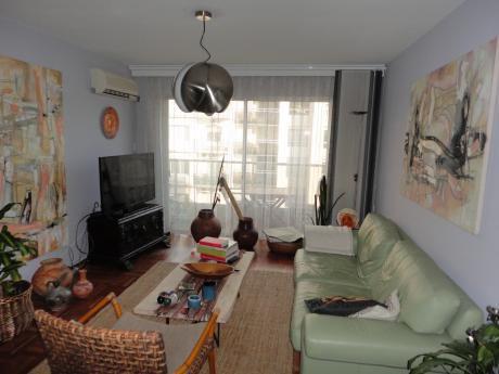 Apartamento En Alquiler De 3 Dorm + Servicio, Losa Y Garaje. Pocitos