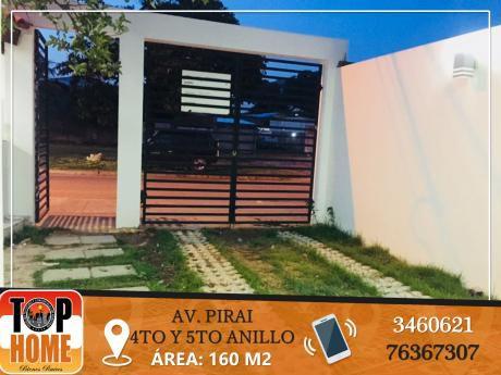 Bella Casa En Alquiler Av Pirai 4to Y 5to Anillo