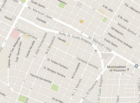 Vendo Terreno Barrio Mcal. Estigarribia