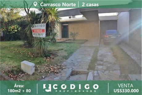 Venta Carrasco Norte, 2 Casas Juntas, Zona Colegios, Cooper