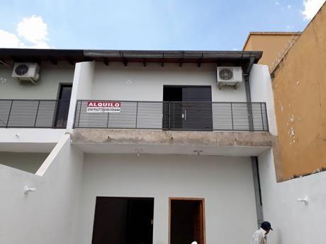 Alquilo Hermosa Casa En Barrio San Miguel San Lorenzo