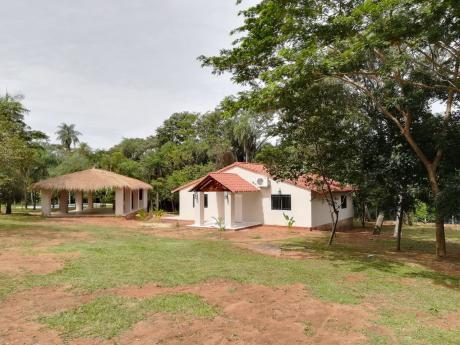Vendo Casa A Estrenar Con Terreno De 6.850 M2 En Sanber