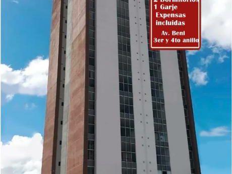 Alquiler: $us 570 - Condominio Torres Berchati