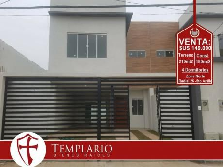 Venta: $us 149.000 Radial 26 - 5to Anillo - 4 Dormitorios