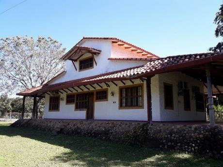Espectacular Casa Quinta En Porongo