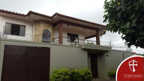 Alquiler.- 900 $us Casa 5 Dorm Santos Dumont 3er Anillo