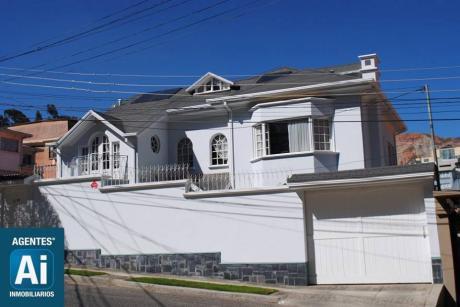 Casa En Achumani A La Venta