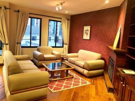 Alquiler Confortable Departamento Amoblado Y Equipado - Calacoto